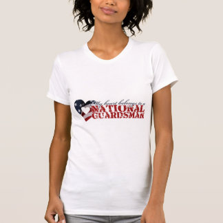 My heart belongs to a National Guardsman T-Shirt