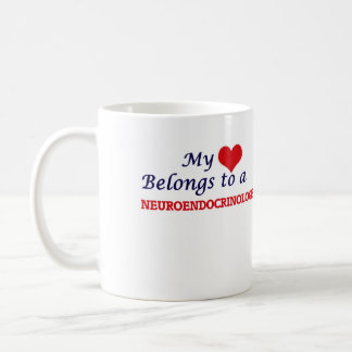 My heart belongs to a Neuroendocrinologist Coffee Mug