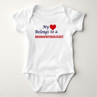 My heart belongs to a Neurophysiologist Baby Bodysuit