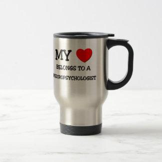 My Heart Belongs To A NEUROPSYCHOLOGIST Coffee Mugs