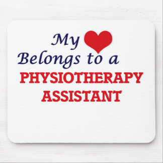My heart belongs to a Physiotherapy Assistant Mouse Pad