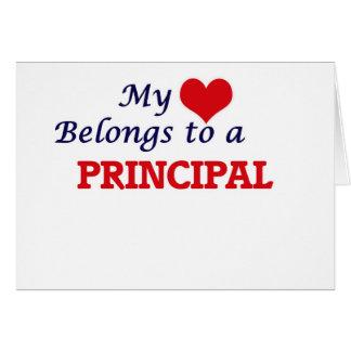 My heart belongs to a Principal Card