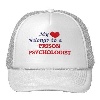 My heart belongs to a Prison Psychologist Cap