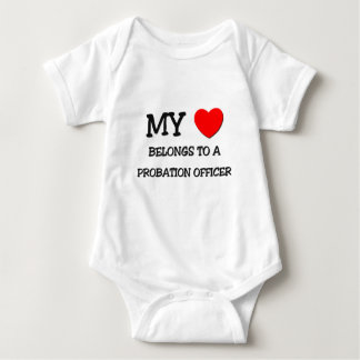 My Heart Belongs To A PROBATION OFFICER Baby Bodysuit