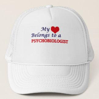 My heart belongs to a Psychobiologist Trucker Hat