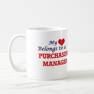 My heart belongs to a Purchasing Manager Coffee Mug