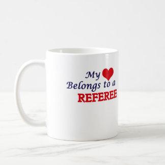 My heart belongs to a Referee Coffee Mug