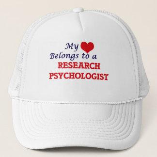 My heart belongs to a Research Psychologist Trucker Hat
