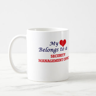 My heart belongs to a Security Management Officer Coffee Mug