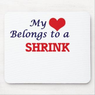 My heart belongs to a Shrink Mouse Pad