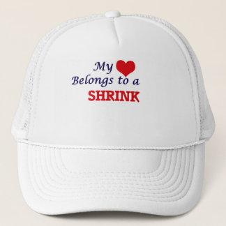 My heart belongs to a Shrink Trucker Hat