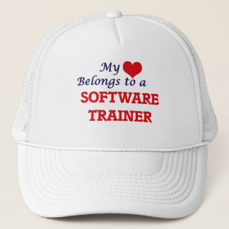 My heart belongs to a Software Trainer Cap