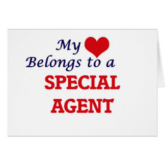 My heart belongs to a Special Agent Card