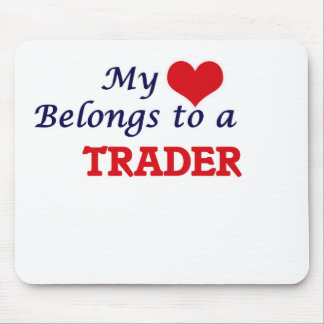 My heart belongs to a Trader Mouse Pad