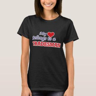 My heart belongs to a Tradesman T-Shirt