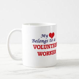 My heart belongs to a Volunteer Worker Coffee Mug