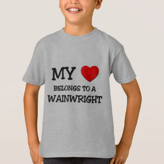 My Heart Belongs To A WAINWRIGHT T-Shirt