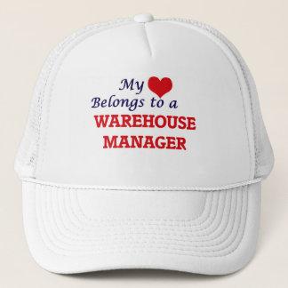 My heart belongs to a Warehouse Manager Trucker Hat