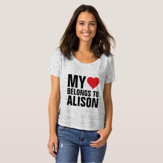 My heart belongs to Alison T-Shirt