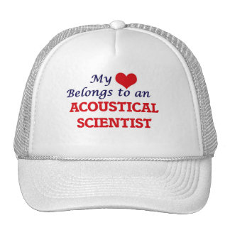My Heart Belongs to an Acoustical Scientist Cap