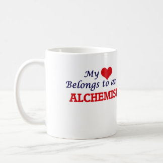 My Heart Belongs to an Alchemist Coffee Mug