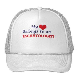 My Heart Belongs to an Eschatologist Cap