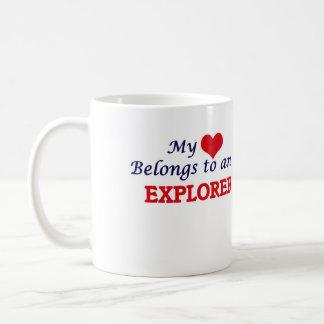 My Heart Belongs to an Explorer Coffee Mug
