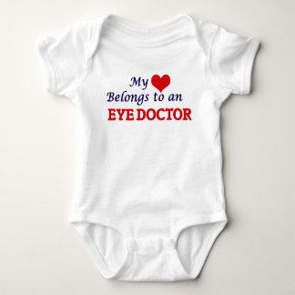 My Heart Belongs to an Eye Doctor Baby Bodysuit