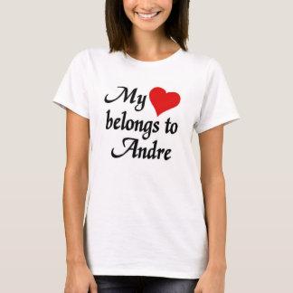 My heart belongs to Andre T-Shirt