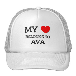 My Heart Belongs To BARBARA Hats