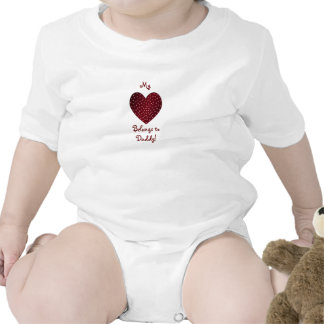 My Heart belongs to Daddy! Infant Creeper
