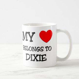 My Heart Belongs To DIXIE Coffee Mug
