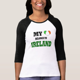My Heart Belongs to Ireland T-shirts