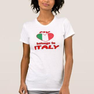 My heart belongs to Italy T-Shirt
