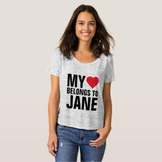 My heart belongs to Jane T-Shirt