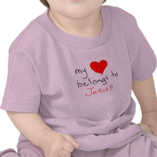 my heart belongs to jesus shirt