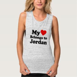 My Heart Belongs to Jordan Singlet