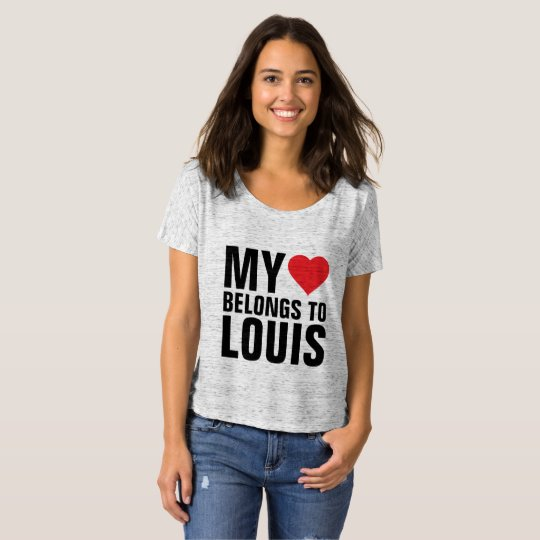 My heart belongs to Louis T-Shirt