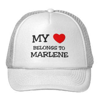 My Heart Belongs To MARLENE Mesh Hats