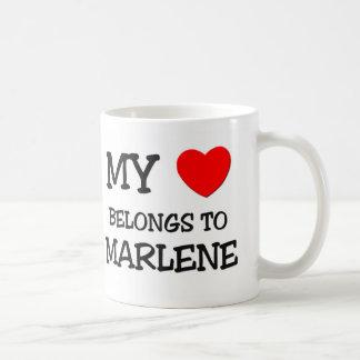 My Heart Belongs To MARLENE Coffee Mugs