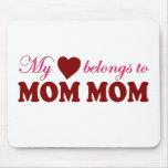 My Heart Belongs to Mum Mum Mouse Pad