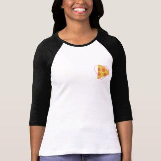 """""""My Heart Belongs to NJ Pizza"""" Women's Raglan Tee"""