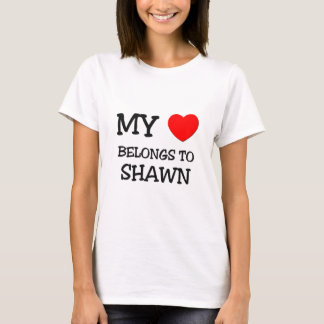My Heart Belongs to Shawn T-Shirt