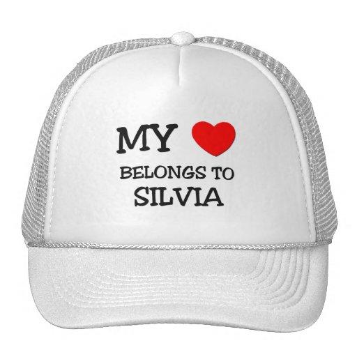 My Heart Belongs To SILVIA Hat