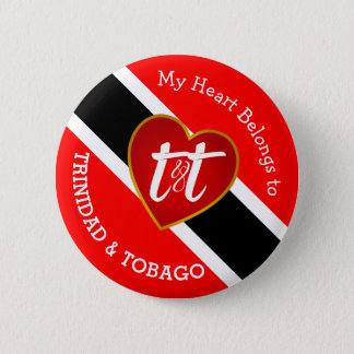 My Heart Belongs to T&T 6 Cm Round Badge