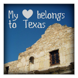 My Heart Belongs to Texas Poster