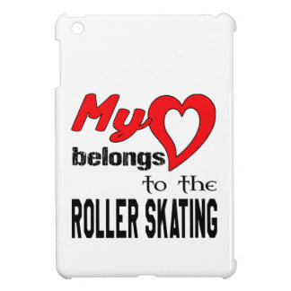 My heart belongs to the Roller Skating. Cover For The iPad Mini
