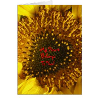 My Heart Belongs To You! Greeting Card