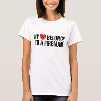 My Heart Fireman T-Shirt