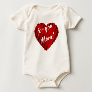 My Heart for you mum baby bodysuit